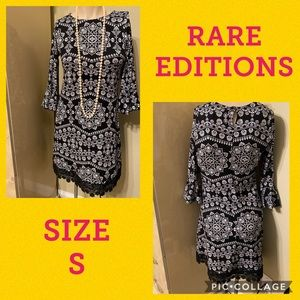 🛍RARE EDITIONS DRESS SIZE S🛍WORN ONCE🛍